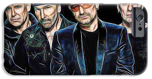 Bono U2 Collection IPhone 6s Case by Marvin Blaine