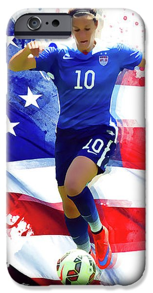 Carli Lloyd IPhone 6s Case by Semih Yurdabak