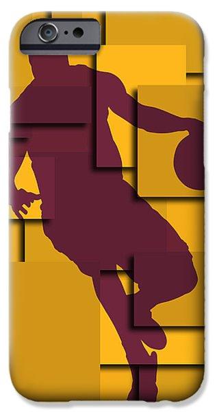 Cleveland Cavaliers Lebron James IPhone 6s Case by Joe Hamilton