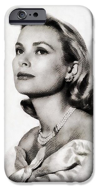 Grace Kelly, Vintage Hollywood Actress IPhone 6s Case