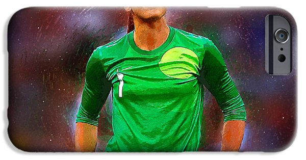 Hope Solo IPhone 6s Case by Semih Yurdabak