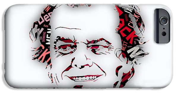 Jack Nicholson Movie Titles IPhone 6s Case