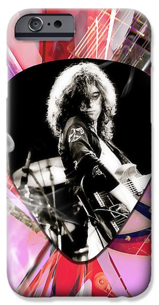 Jimmy Page Led Zeppelin Art IPhone 6s Case