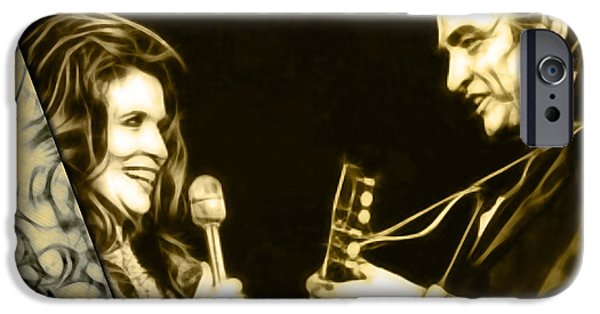 June Carter And Johnny Cash Collection IPhone 6s Case by Marvin Blaine
