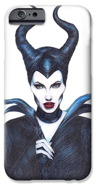 Maleficent  Once Upon A Dream IPhone 6s Case by Kent Chua