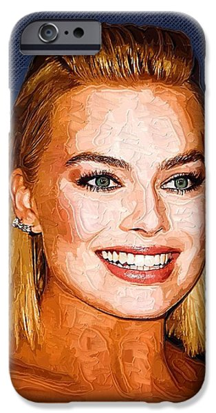Margot Robbie Art IPhone 6s Case by Best Actors