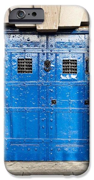 Dungeon iPhone 6s Case - Old Blue Door by Tom Gowanlock