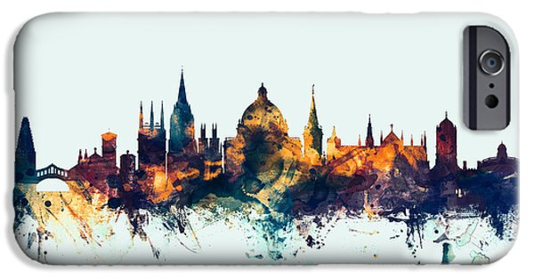 Oxford England Skyline IPhone 6s Case by Michael Tompsett