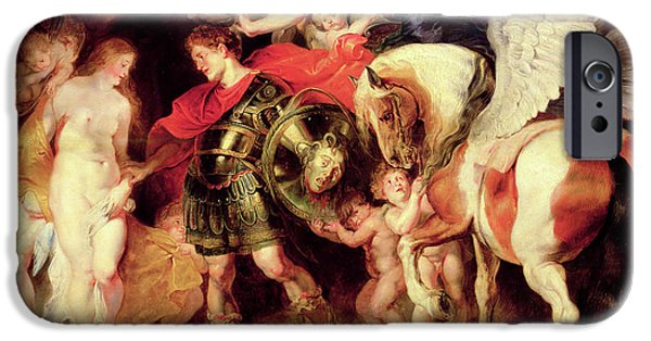 Gorgon iPhone 6s Case - Perseus Liberating Andromeda  by Peter Paul Rubens