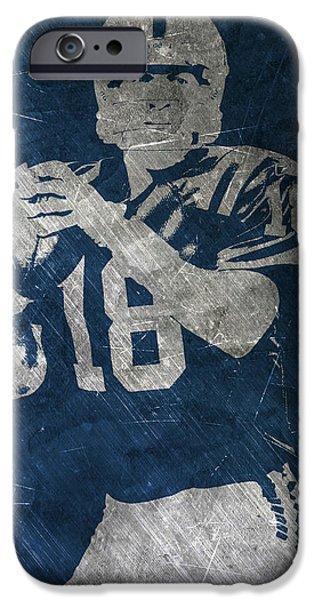 Peyton Manning Colts IPhone 6s Case by Joe Hamilton