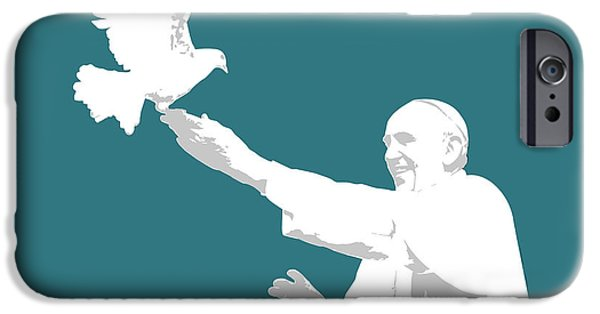 Pope Francis IPhone 6s Case by Greg Joens