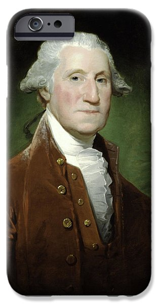 George Washington iPhone 6s Case - President George Washington by War Is Hell Store