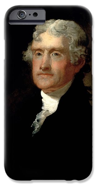 President Thomas Jefferson  IPhone 6s Case by War Is Hell Store