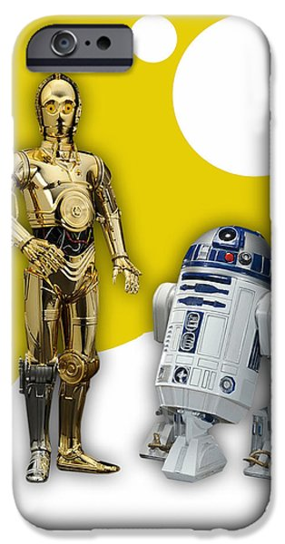 Star Wars C-3po And R2-d2 IPhone 6s Case by Marvin Blaine