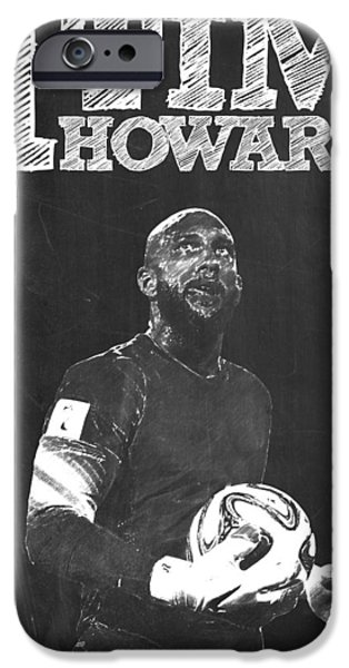 Tim Howard IPhone 6s Case by Semih Yurdabak