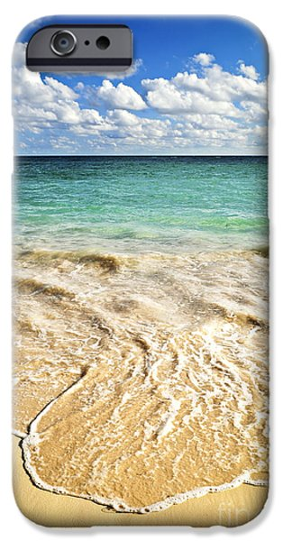 Ocean iPhone 6s Case - Tropical Beach  by Elena Elisseeva