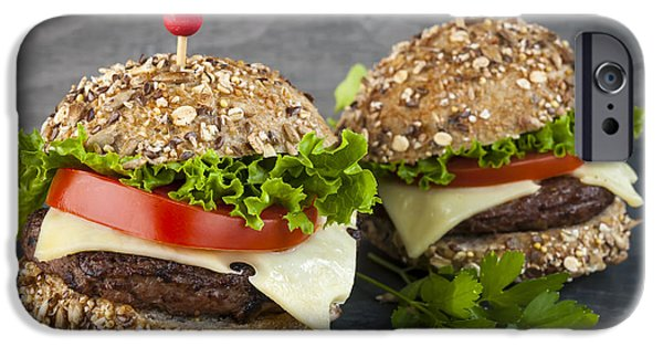 Two Gourmet Hamburgers IPhone 6s Case by Elena Elisseeva