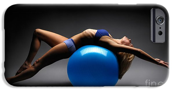 Yoga iPhone 6s Case - Woman On A Ball by Maxim Images Prints