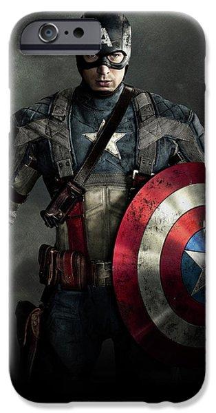 Ant iPhone 6s Case - Captain America Civil War 2016 by Fine Artist