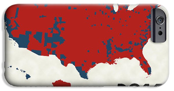 2016 Election Results IPhone 6s Case by Finlay McNevin