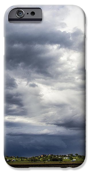 Nebraskasc iPhone 6s Case - Afternoon Nebraska Thunderstorm by NebraskaSC