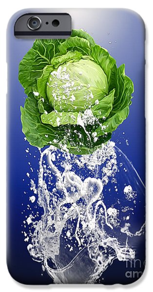 Cabbage Splash IPhone 6s Case by Marvin Blaine