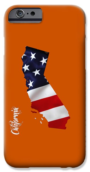 California State Map Collection IPhone 6s Case by Marvin Blaine
