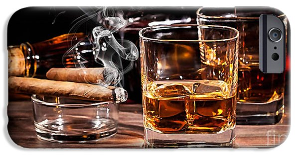 Cigar And Alcohol Collection IPhone 6s Case by Marvin Blaine