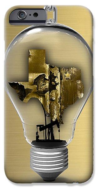 Dallas Texas Map Collection IPhone 6s Case