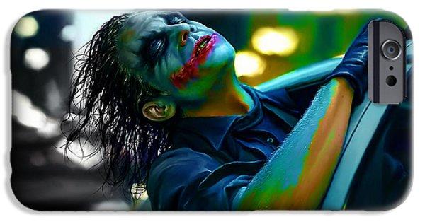 Heath Ledger iPhone 6s Case - Heath Ledger by Marvin Blaine