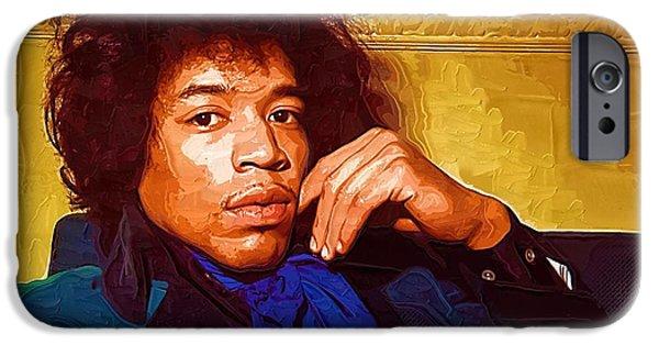 Jimi Hendrix IPhone 6s Case