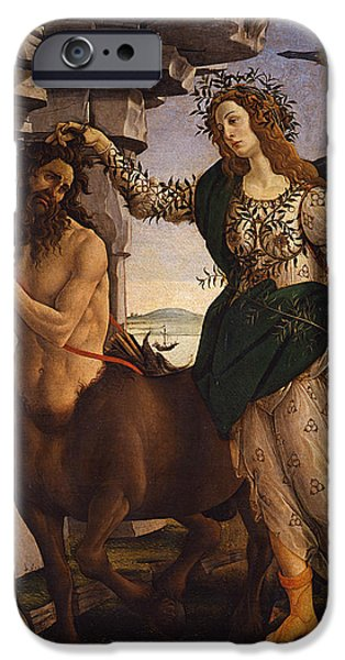 Pallas And The Centaur IPhone 6s Case by Sandro Botticelli
