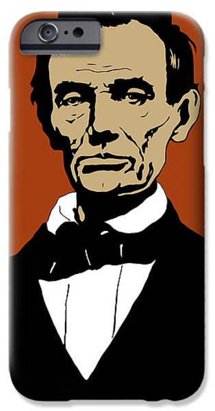Abraham Lincoln iPhone 6s Case - President Lincoln by War Is Hell Store