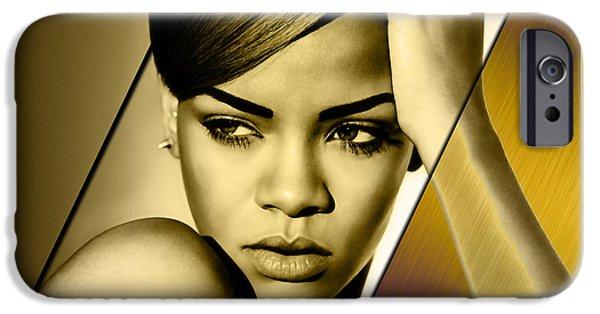 Rihanna iPhone 6s Case - Rhianna Collection by Marvin Blaine