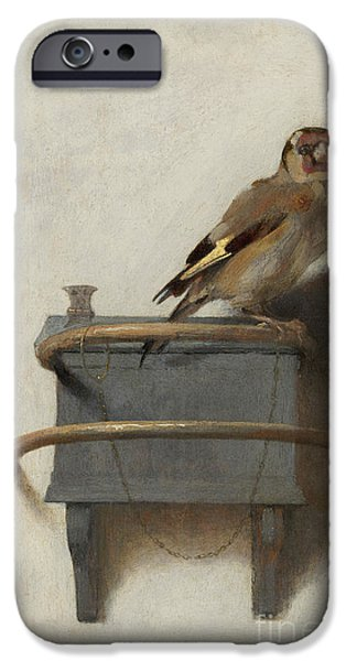 The Goldfinch IPhone 6s Case by Carel Fabritius