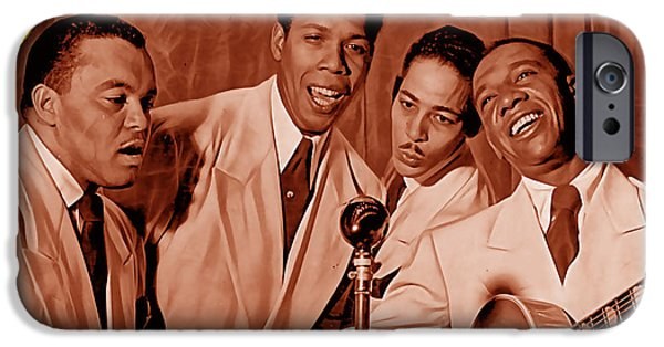 The Ink Spots Collection IPhone 6s Case by Marvin Blaine