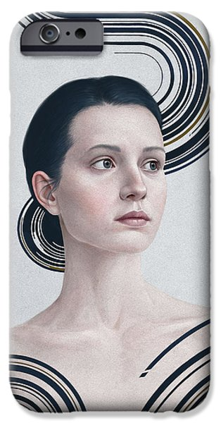 Contemporary Realism iPhone 6s Case - 365 by Diego Fernandez