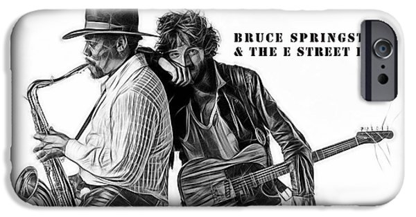 Bruce Springsteen Clarence Clemons Collection  IPhone 6s Case by Marvin Blaine