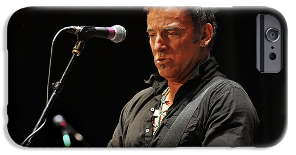 Musicians iPhone 6s Case - Bruce Springsteen by Jeff Ross
