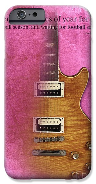 Darius Rucker Inspirational Quote, Electric Guitar Poster For Music Lovers And Musicians IPhone 6s Case