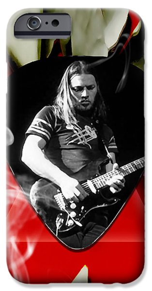 David Gilmour Pink Floyd Art IPhone 6s Case by Marvin Blaine