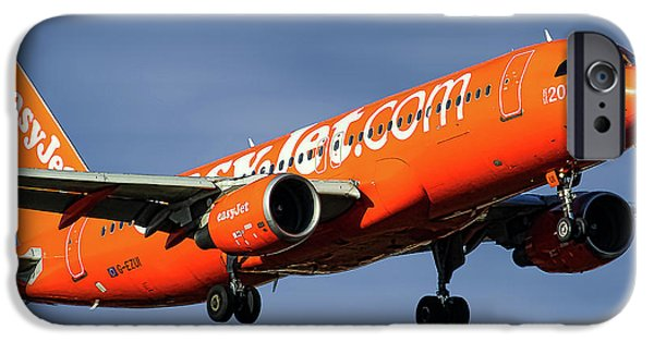 Jet iPhone 6s Case - Easyjet 200th Airbus Livery Airbus A320-214 by Smart Aviation