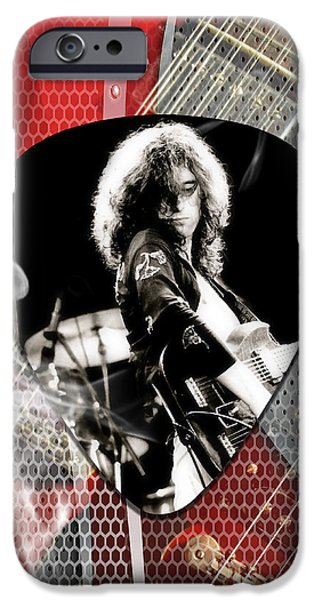 Jimmy Page Art IPhone 6s Case by Marvin Blaine