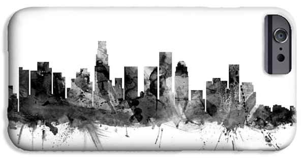 Los Angeles California Skyline IPhone 6s Case by Michael Tompsett
