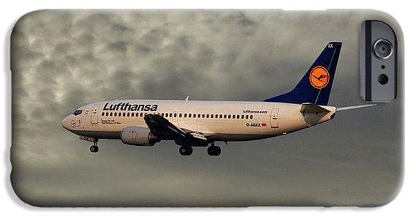 Jet iPhone 6s Case - Lufthansa Boeing 737-300 by Smart Aviation