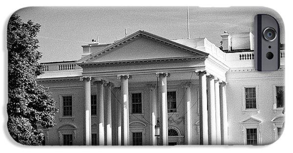 northern facade of the white house Washington DC USA IPhone 6s Case