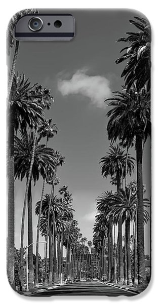 Beverly Hills iPhone 6s Case - Palms Of Beverly Hills by Mountain Dreams