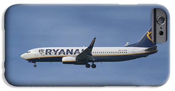 Jet iPhone 6s Case - Ryanair Boeing 737-8as  by Smart Aviation