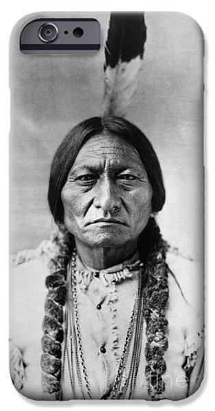 Bull iPhone 6s Case - Sitting Bull 1834-1890. To License For Professional Use Visit Granger.com by Granger
