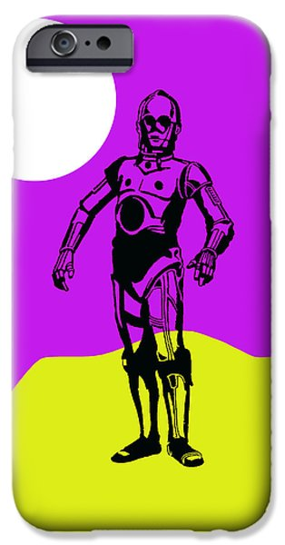 Star Wars C-3po Collection IPhone 6s Case by Marvin Blaine